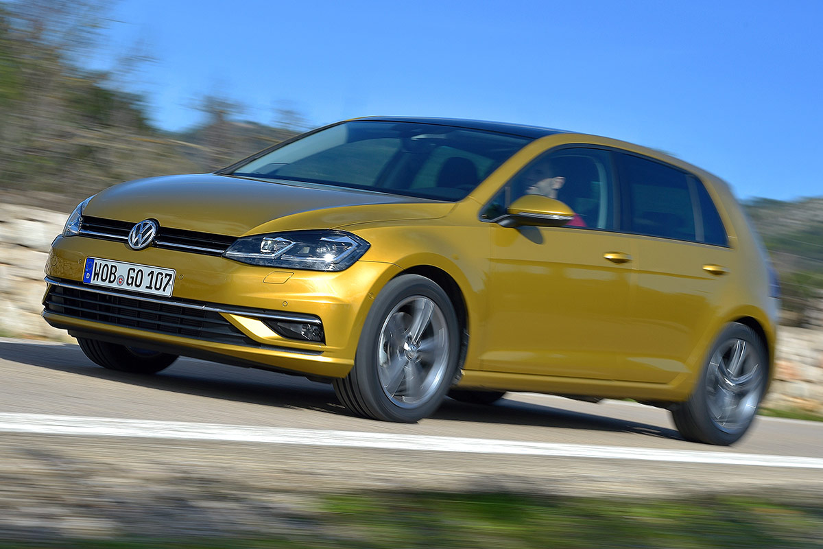 VW Golf 7 Facelift TSI