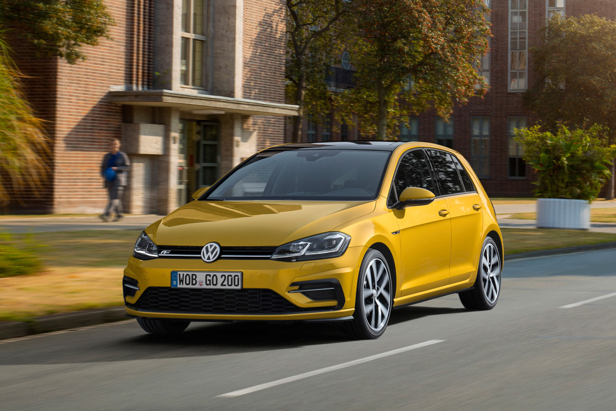 VW Golf 7 Facelift Motoren und Preise 1