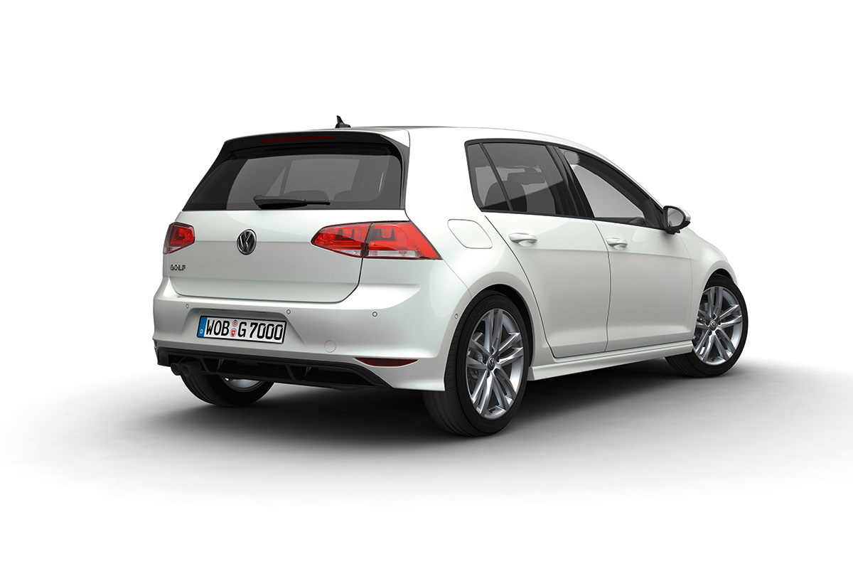 vw golf 7 facelift. Black Bedroom Furniture Sets. Home Design Ideas