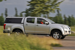 Isuzu D-Max: Erste Fahrt
