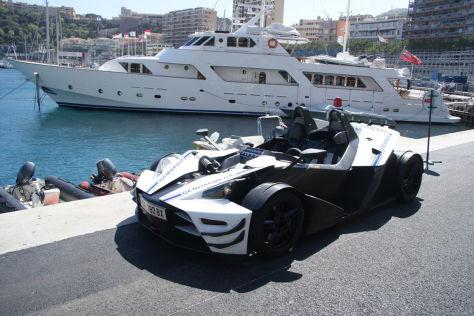 KTM X-Bow von MTM als Polizeiauto