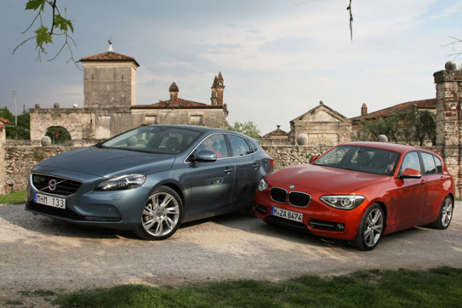 Video: BMW 125i vs. Volvo V40