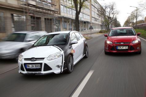 Vergleich: MS Design Focus 1.6 Ecoboost gegen Wolf Racing Focus 1.6 Ecoboost