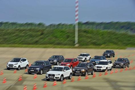 SUVs im Verbrauchs-Check