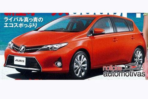 Toyota Auris Internet-Ausschnitt