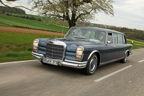 Mercedes 600 Pullmann W 100