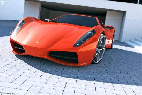 Ferrari 365 Turin Designstudie