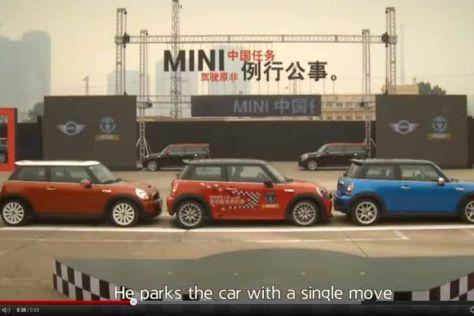 Mini schafft Parklücken-Weltrekord