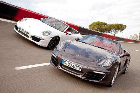 Porsche 911 Cabrio Porsche Boxster