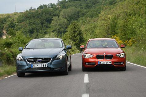 BMW 1er Volvo V40