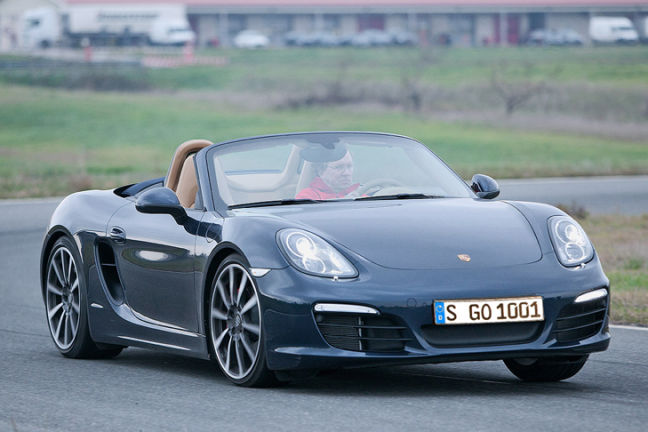 Video: Porsche Boxster S