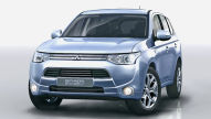 Mitsubishi Plug-in Hybrid: Pariser Salon 2012