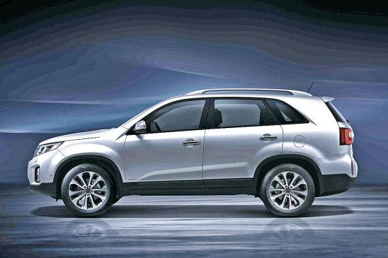 Kia Sorento Facelift 2012