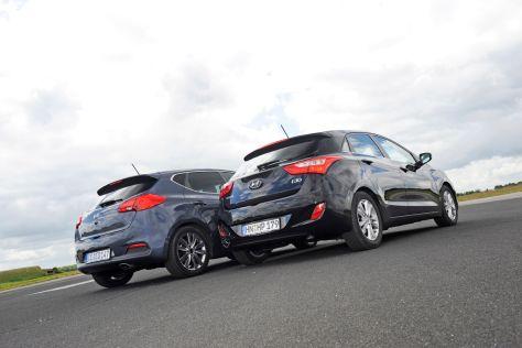 Kia cee'd Hyundai i30