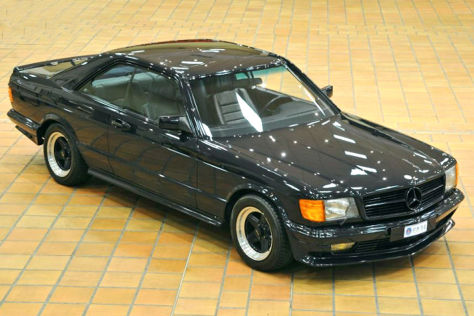 Mercedes 500 SEC W 126