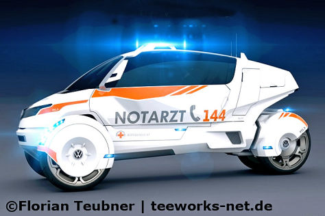 NEV Evo Rettungswagen-Konzept