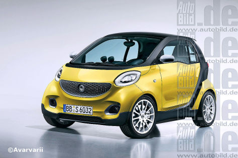 Smart fortwo III (Illustration)