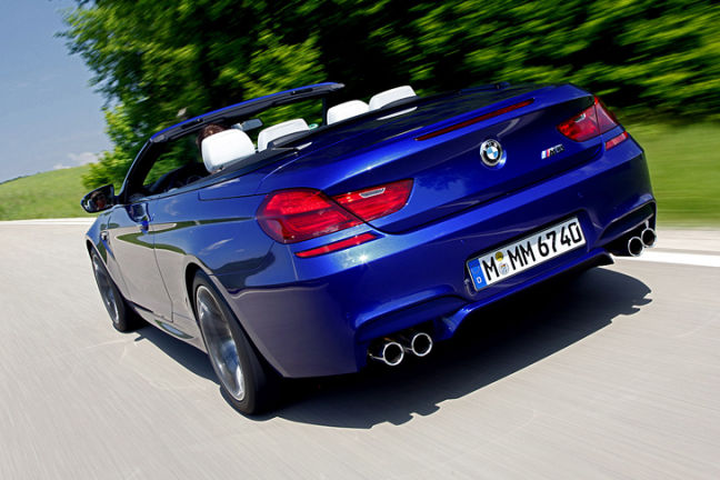 Video: BMW M6 Cabrio