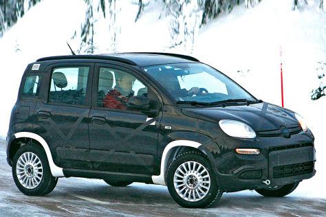 Fiat Panda 4x4 Erlkönig