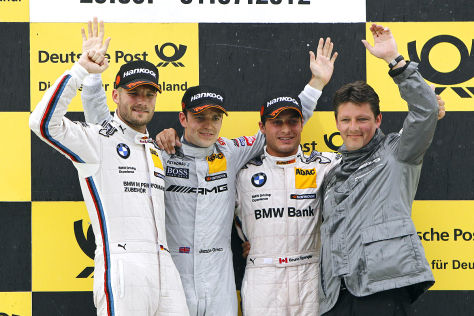 DTM Norisring 2012 Podium