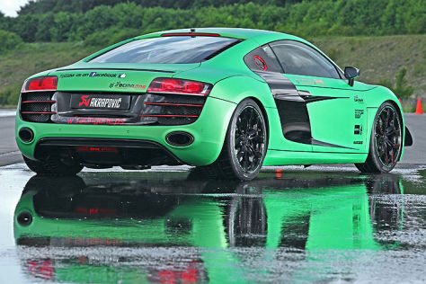 Auto Racing  on Tuning Von Racing One F  R Den Audi R8 V10   Autobild De