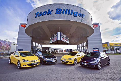 Opel Astra GTC 2.0 CDTI VW Golf GTD Opel Astra GTC 1.6 Turbo VW Golf GTI