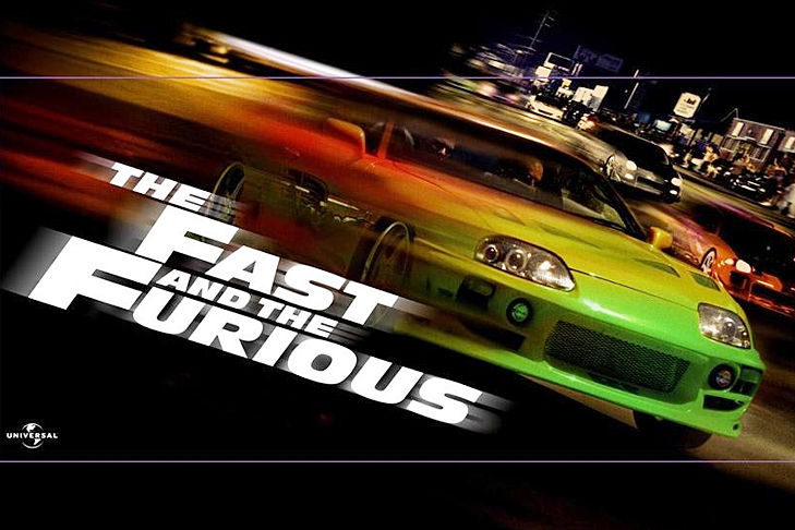 The Fast and the Furious Fast Five Six Tokyo Drift