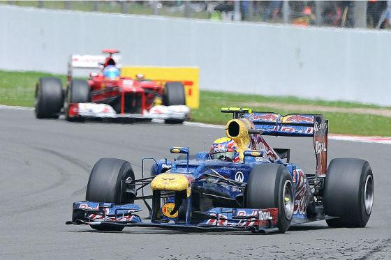 Mark Webber im Red Bull
