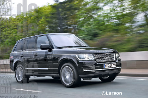 Range Rover Illustration (2013)