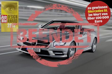 Design Award 2012: Abstimmen und einen Mercedes SL gewinnen