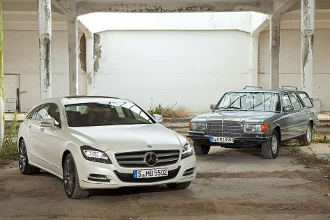 Mercedes CLS Shooting Brake Mercedes 450 SEL Crayford