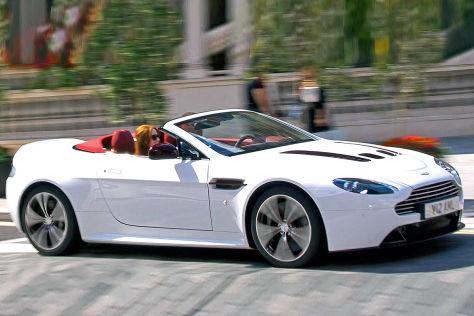 Aston Martin V12 Vantage Roadster Autobild De