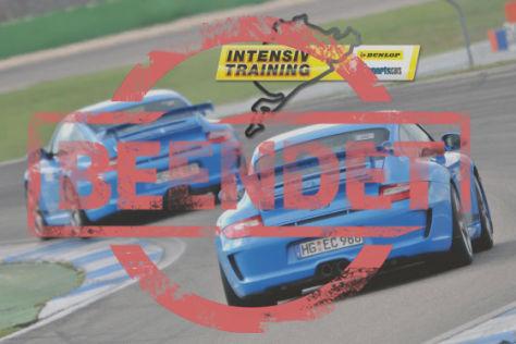 Dunlop Porsche-Intensivtraining