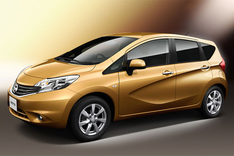 Nissan Note 2013, Japan-Version