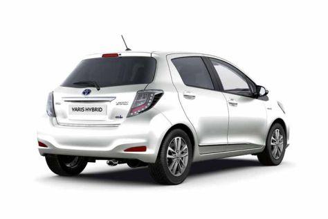 Toyota Yaris Hybrid: Zubehörpakete