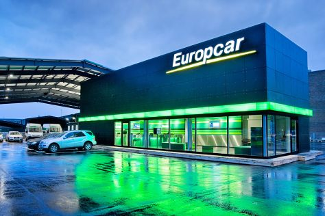 Europcar-Station in Hamburg