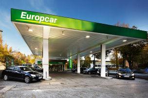 Europcar-Station in München