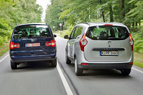 Dacia Lodgy VW Sharan