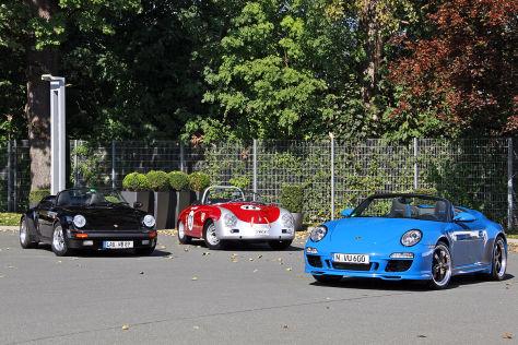 Porsche gestern und heute: Vergleich