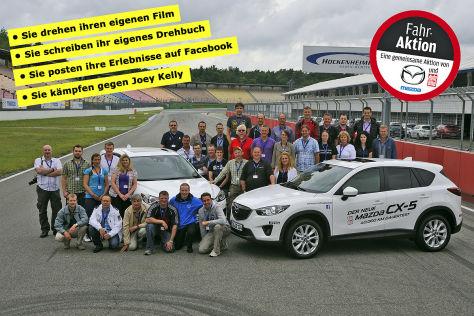 Partneraktion: 40.000 Kilometer mit dem Mazda CX-5