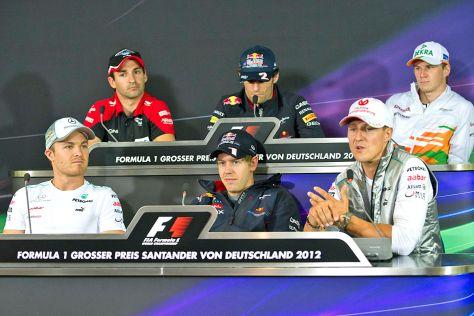 Deutsche Formel 1-Fahrer