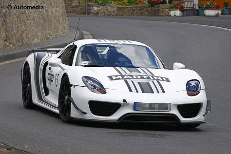 Porsche 918 Spyder Erlkönig