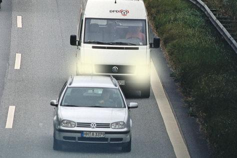 Kontrollen für Kleintransporter