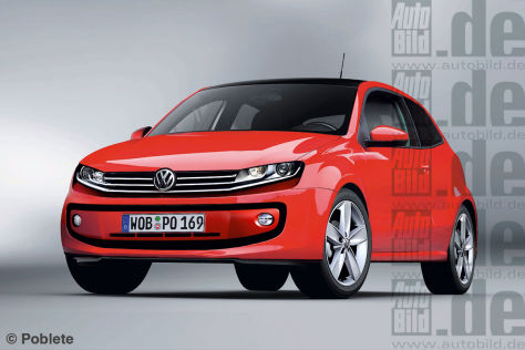 VW Polo Illustration