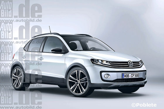 VW Polo-SUV Illustration