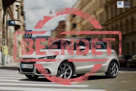 ZF-Praxistest: Gewinnen Sie einen Audi A1 im Wert von 25.410 Euro!