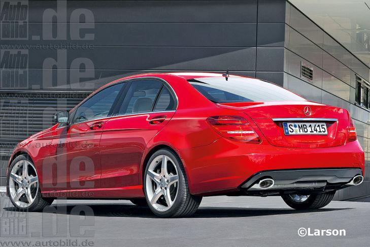 Bilder: So kommt die neue Mercedes C-Klasse