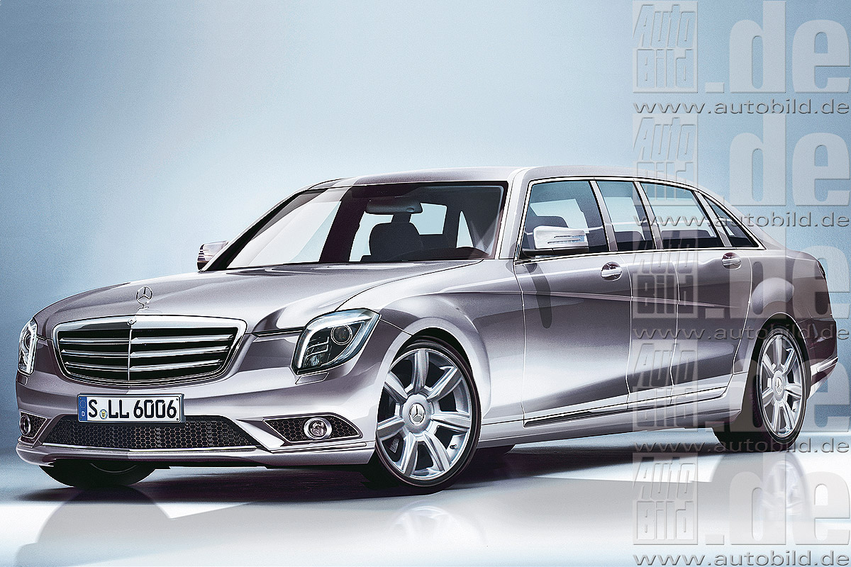 Mercedes S 600 Pullman Illustration