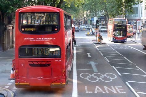 Verkehrschaos durch Olympia