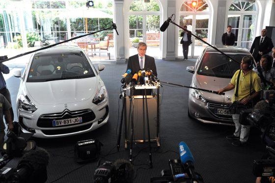Frankreich hilft seinen Autobauern